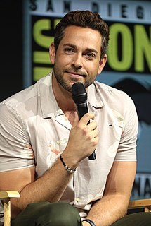 Zachary Levi actor from the United States
