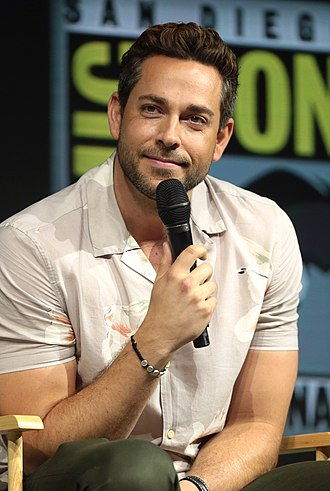 Zachary Levi - Levi at the 2018 San Diego Comic-Con