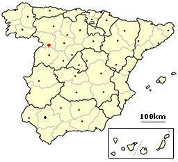 Zamora Spain location