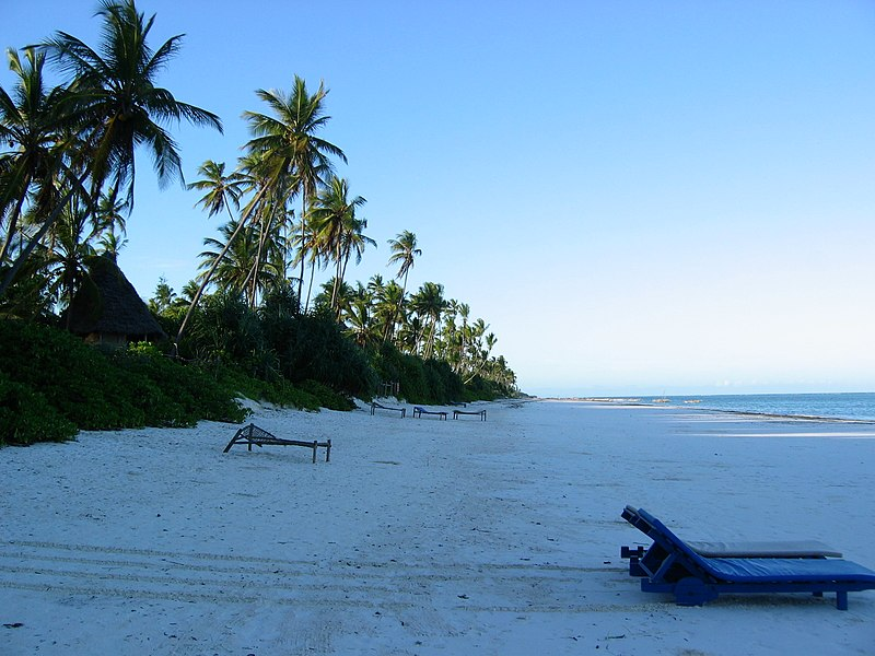 File:Zanzibar east coast pristine beach.JPG
