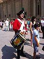 Zaragoza - Turistas y Figurantes vestidos de soldados de la Guerra de la Independencia 07.jpg