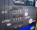 Zbraslav, čerpací stanice Rainstav, displej stojanu.jpg