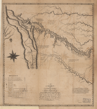 Pike expedition - Image: Zebulon Pike Map