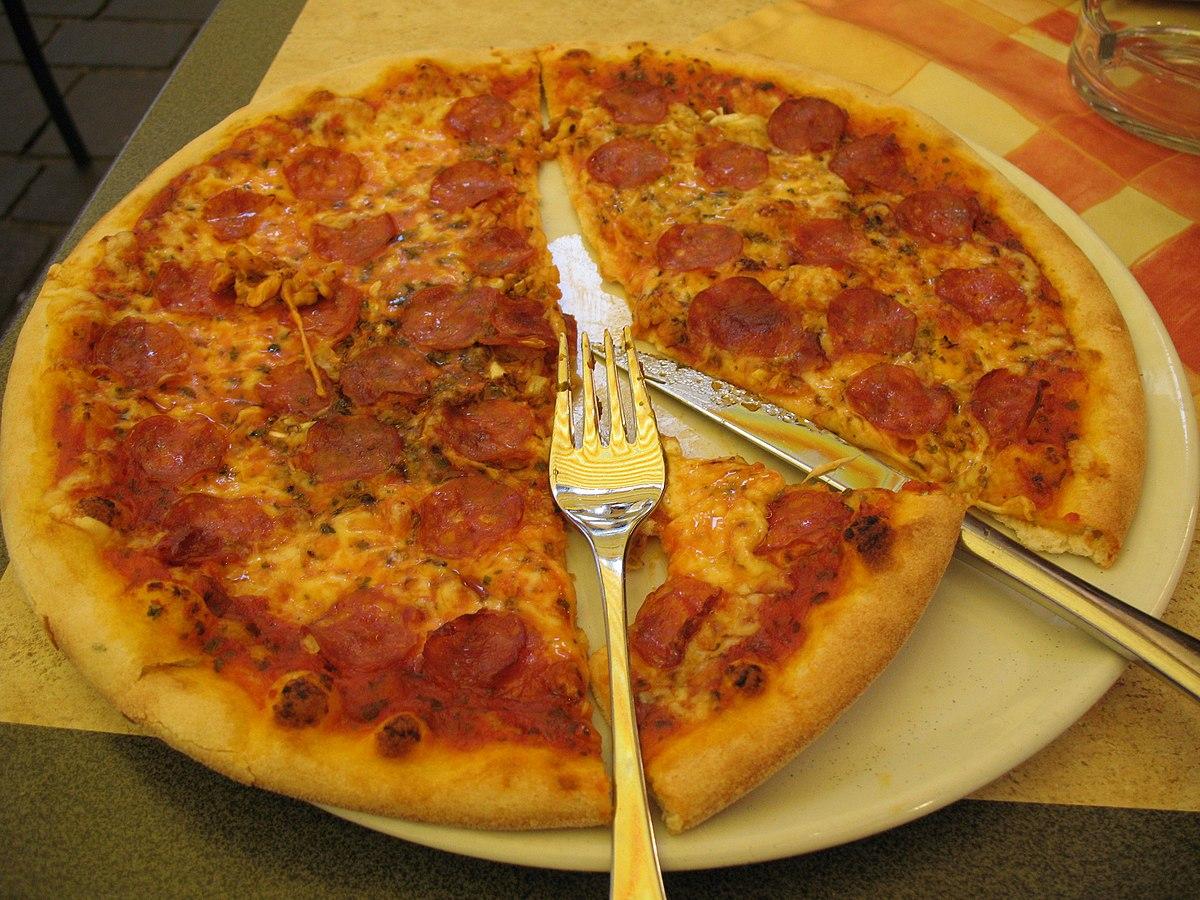 pizza WikiWoordenboek