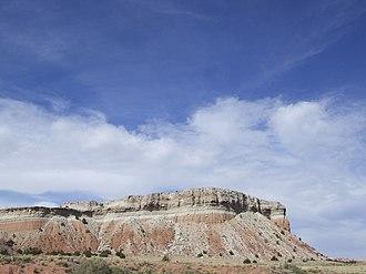 Zia Pueblo, New Mexico - Formation on Zia Pueblo, New Mexico.
