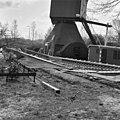 Zicht op de wieken van de Kortrijkse molen, tijdens restauratie - Breukelen - 20042326 - RCE.jpg