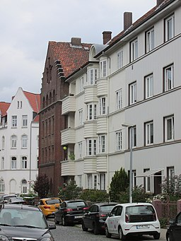 Ziegelstraße in Hannover
