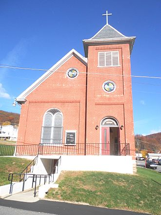 Mahoning Township, Carbon County, Pennsylvania - Zion Lutheran Church in Packerton