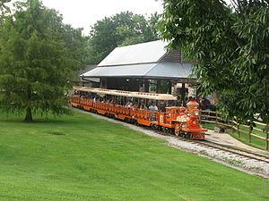 Tulsa Zoo - Zoo train