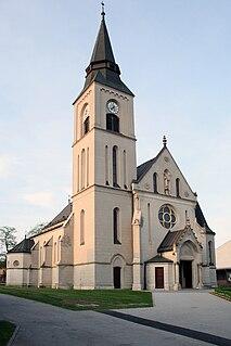 Dugo Selo Town in Zagreb, Croatia