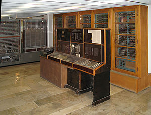Z4 (computer) - Z4 on display at the Deutsches Museum, Munich