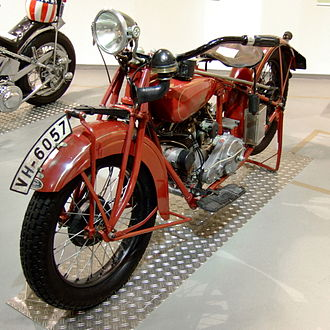 Indian Scout (motorcycle) - Image: Zwei Rad Museum NSU Indian Scout