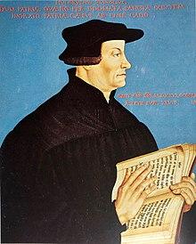 Porträt Ulrich Zwinglis von Hans Asper, 1549 (Quelle: Wikimedia)