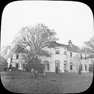 Government House, Isle of Man - View of the residence circa 1880