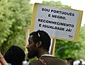 """""""I'm portuguese and black . Equality and recognition, Now! (34289424685).jpg"""