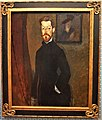 """Portrait of Dr Paul Alexandre"" by Amedeo Modigliani - Joy of Museums - Yamazaki Mazak Museum of Art.jpg"