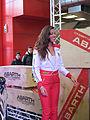 """"""" 12 - ITALY - ABARTH - Girls of Motorshow Bologna ( ragazze al motorshow di Bologna) 2.JPG"""