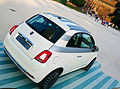 """ 15 - ITALY - Fiat 500 restyling in Sempione Park (Sforzesco Castle) in Milan - world premier 2015 Hatchbacks purple lounge and white sport 08.jpg"