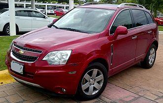 Opel Antara - Chevrolet Captiva Sport (Mexico)