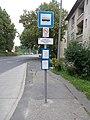 'Salgótarján (Zagyvapálfalva), Felüljáró' bus stop, 2020 Zagyvapálfalva.jpg