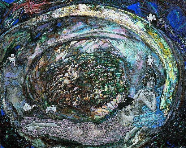 Жемчужная раковина, 1904, Государственная Третьяковская галерея