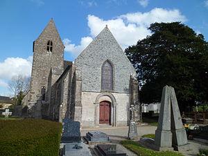 L'église Saint-Hermeland.