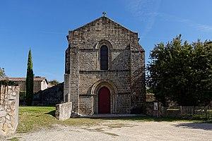Châtillon-sur-Thouet - The church in Châtillon-sur-Thouet