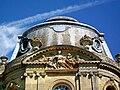 Épinay-Champlâtreux (95), château de Champlâtreux, façade principale ouest, pavillon central, détail.jpg