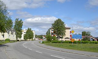 Övertorneå Place in Norrbotten, Sweden