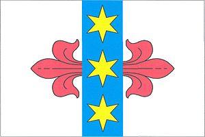 Černčice (Louny District) - Image: Černčice vlajka