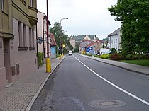 Česká Třebová, Riegrova, od ulice Na Splavě k severu.jpg