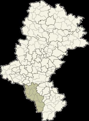 Cieszyn County - Image: Śląskie cieszyński