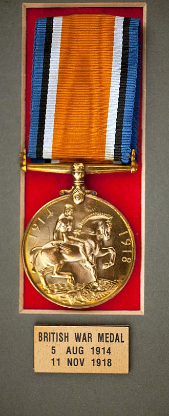 Maltese Labour Corps - Men who served in the Maltese Labour Corps were awarded British War Medals in bronze