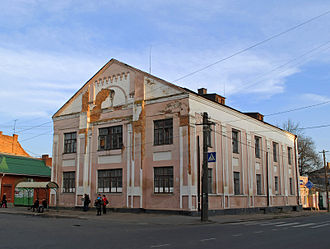 Berdychiv - Former synagogue in Berdychiv