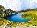 """Езеро Бъбрека, Седемте рилски езера; Lake """"The Kidney"""", The Seven Rila lakes.jpg"""