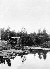 Мельница. Южная Кельтма.1890.Юлий Шокальский.jpg