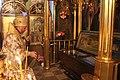 Мощи преподобного Иоанна Кормянского в храме..jpg