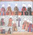 Мурад III назначает Оздемироглу Осман бея сердаром.png