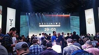 Destiny 2 - Destiny 2 presentation on May 18 at Jet Center in Hawthorne, California