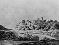 Руїни Корецького замку. Літографія.png