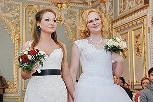 Брак лесби пар фото 325-629