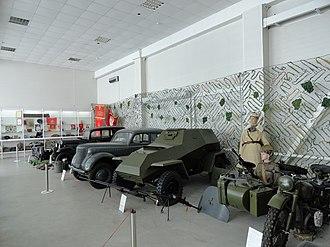 Taganrog military museum - Image: Таганрогский военно исторический музей экспозиция