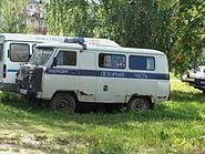 УАЗ-452 Милиция. Дежурная часть