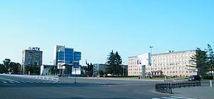 Ussuriysk - Nekrasova Street in Ussuriysk