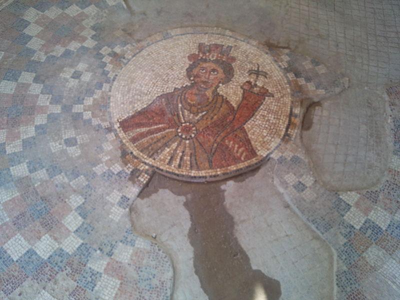 עבודת פסיפס בעיר העתיקה