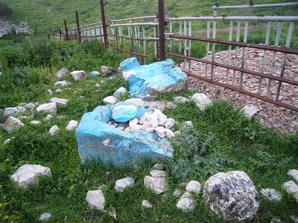 קבר אשר בן יעקב בקדש נפתלי