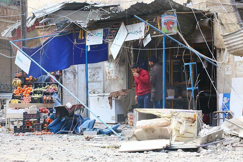 File:قصف على مدينة دوما.jpg