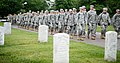 """""""Flags in"""" with The Old Guard in Arlington National Cemetery (17763387348).jpg"""