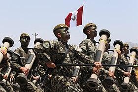 Ejército del Perú - Wikipedia, la enciclopedia libre