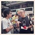 蔡東豪都來支持獨立媒體,71 行過,記得支持下,公民發聲 -71 -hk71 -Hk (14525866106).jpg